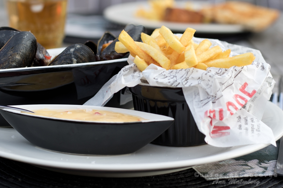 MOULES FRITES MED CHILIMAJONÄS