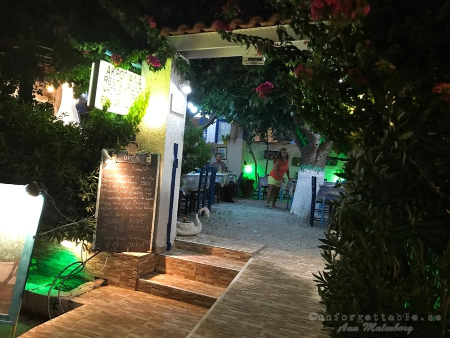 ANNAS RESTAURANT SAMOS del 6