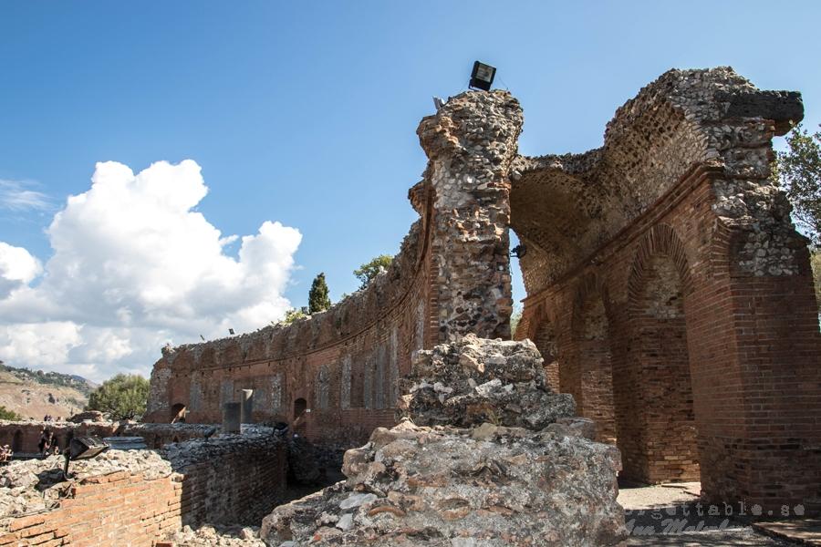 GREKISKA TEATERN TAORMINA SICILIEN - Ancient Theatre of Taormina