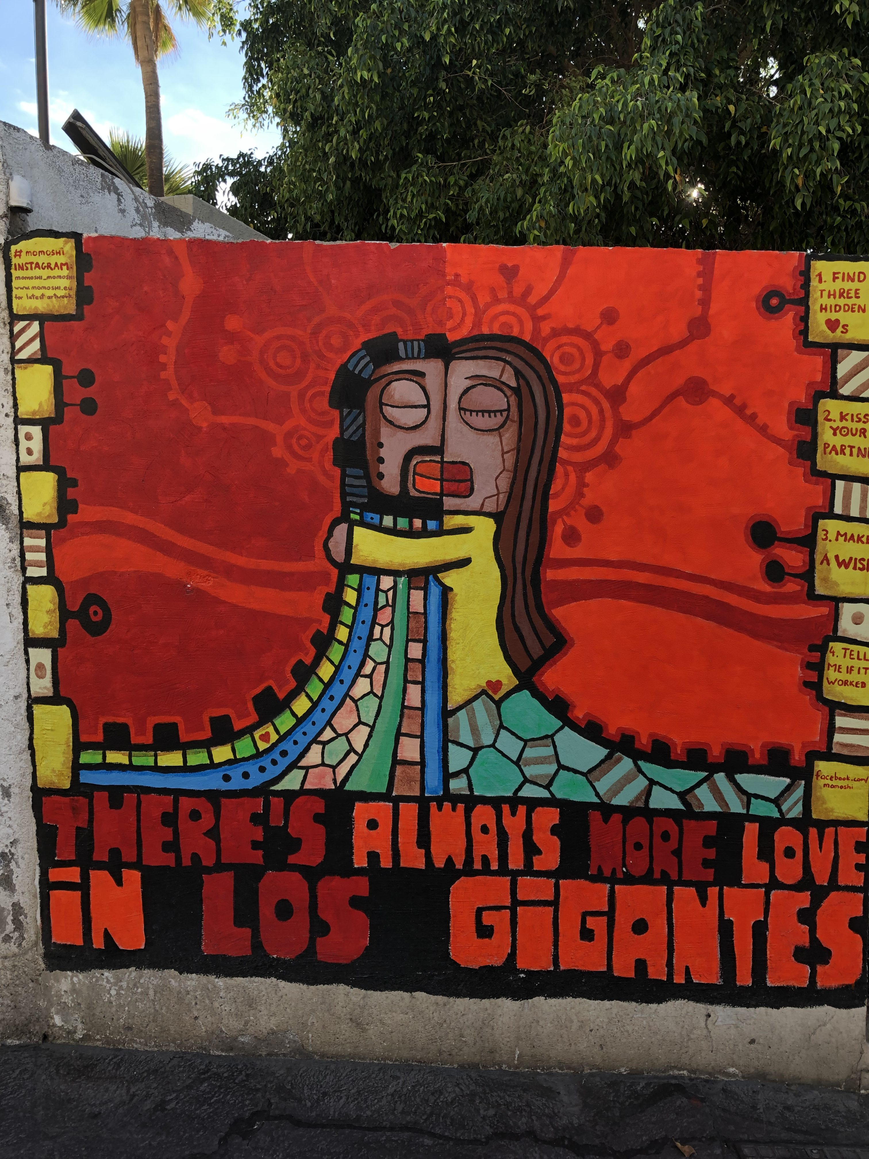 LOS GIGANTES TENERIFFA
