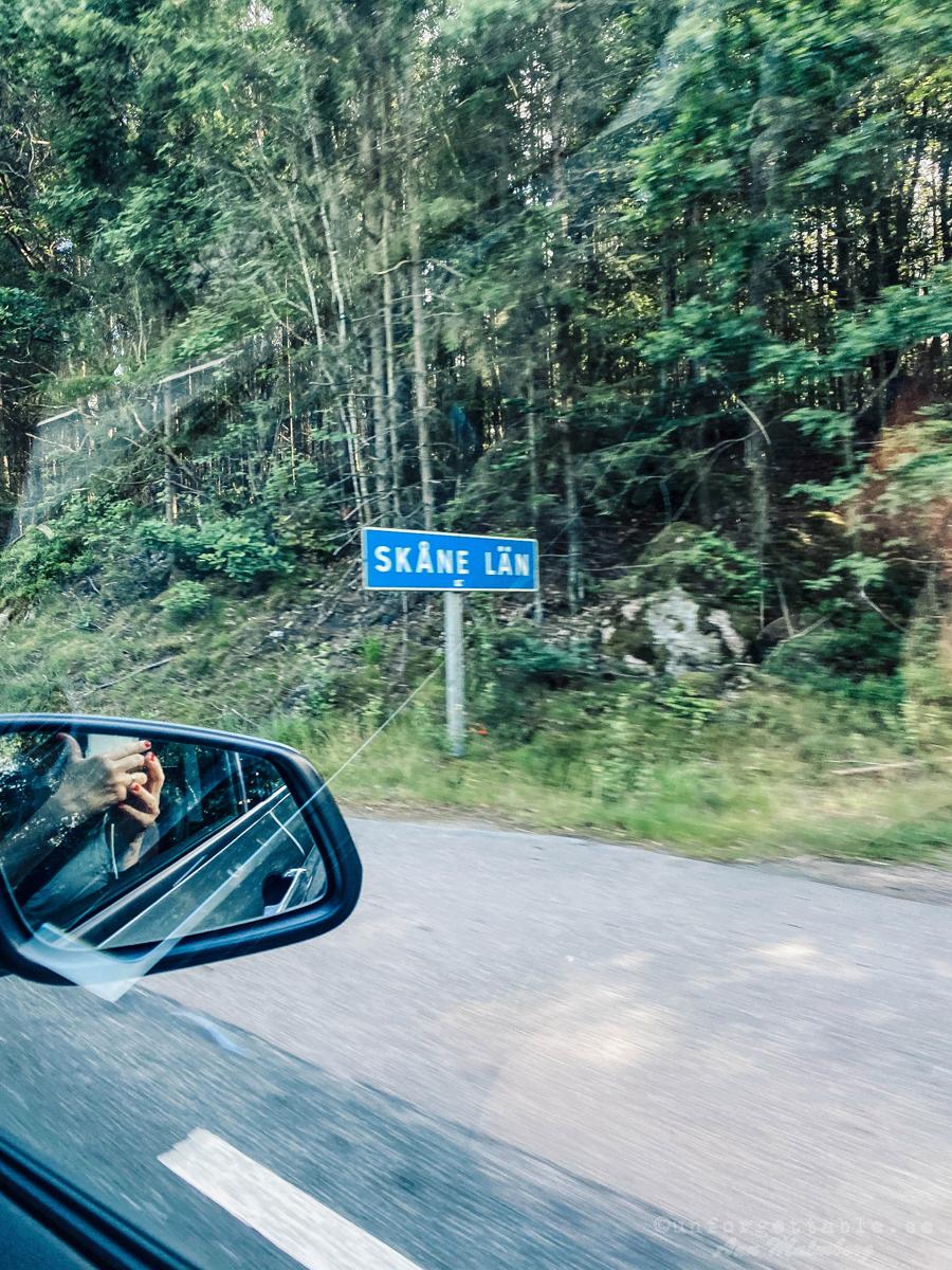 Roadtripp Skåne tur