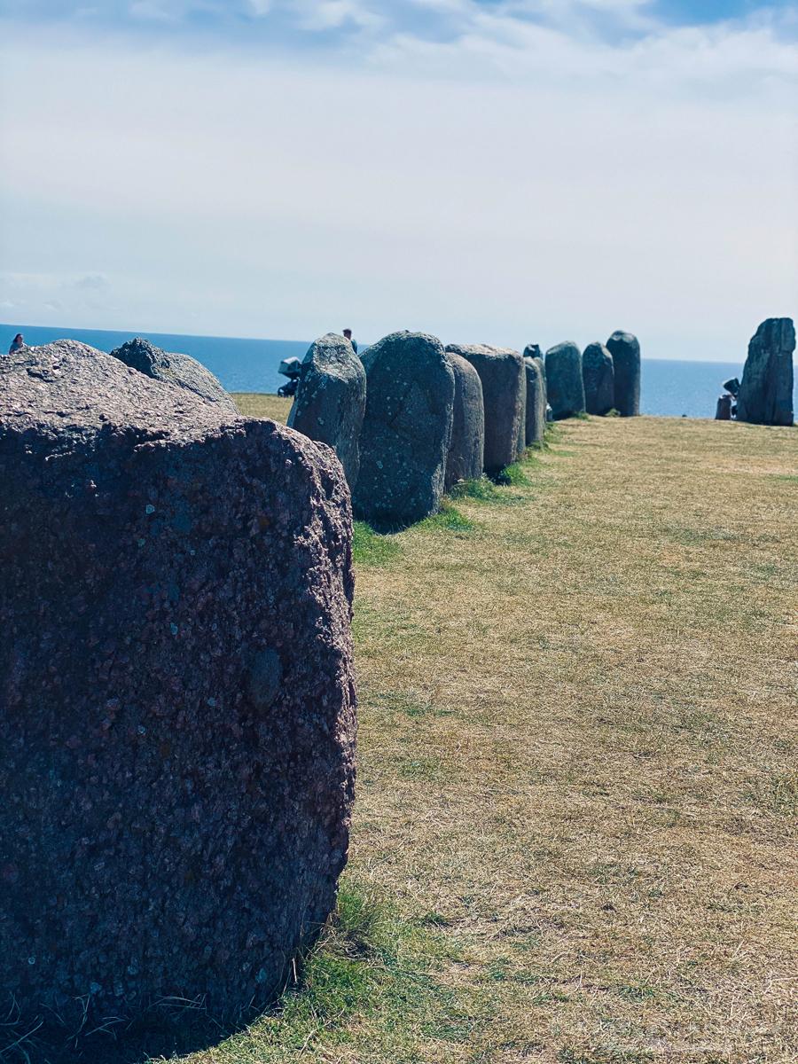 Ale stenar, Kåsehuvud och Kåseberga Skåne