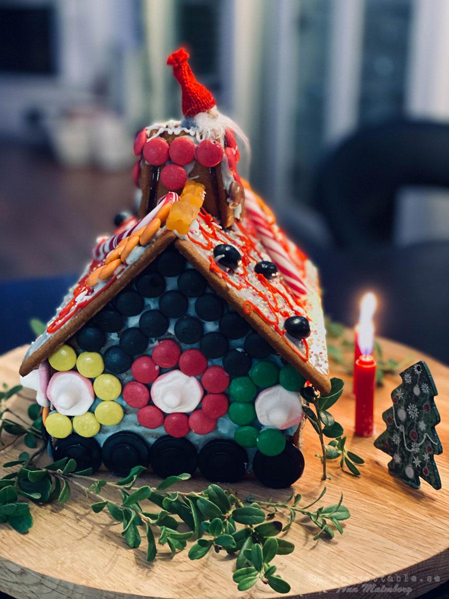 Årets pepparkakshus, luciajogg & lussevalp