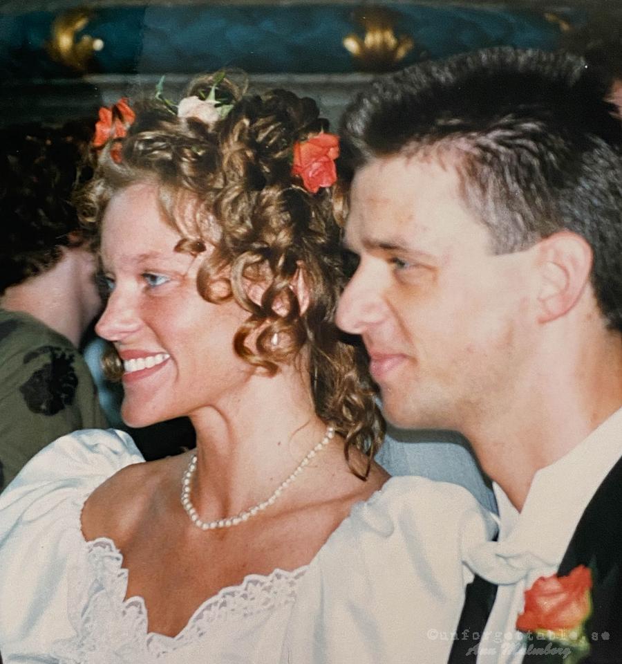 Bröllopsdag no 23 Hampa -Bröllopsfoton 1998
